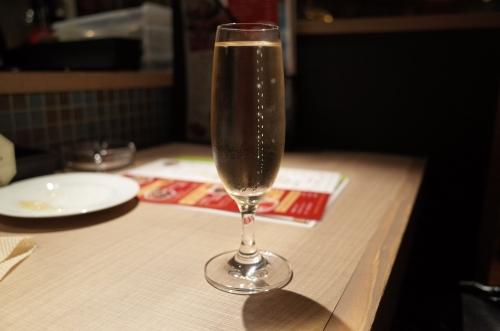 スパークリングワイン2杯目