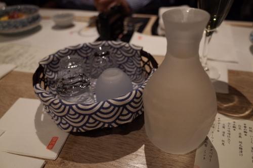 日本酒はいろんなおちょこで