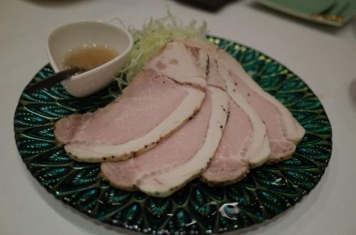 茶美豚のローストポーク