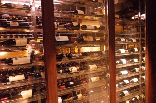 ワインがいっぱい
