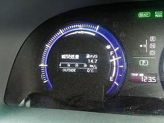 10-31の気温(志賀高原)