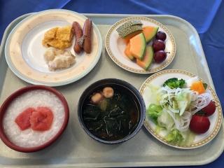 ホテルモントレエーデルホフの朝食