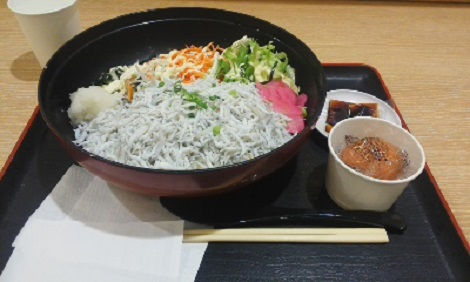 松田シラス丼