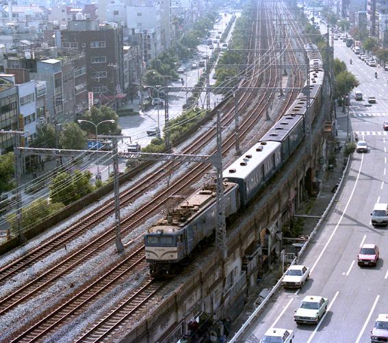 EF58 荷物列車