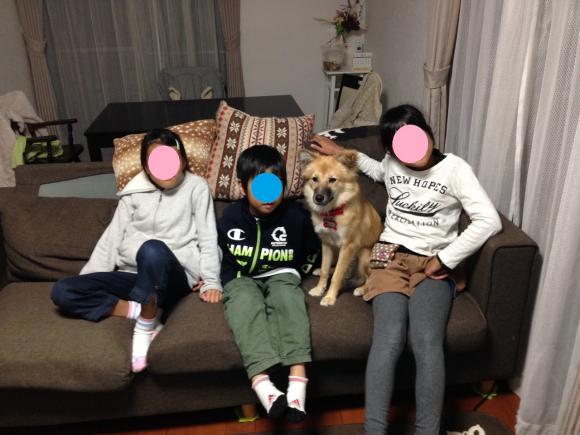 き~ちゃんの家族