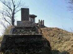 以前の「茨城百景の石碑」
