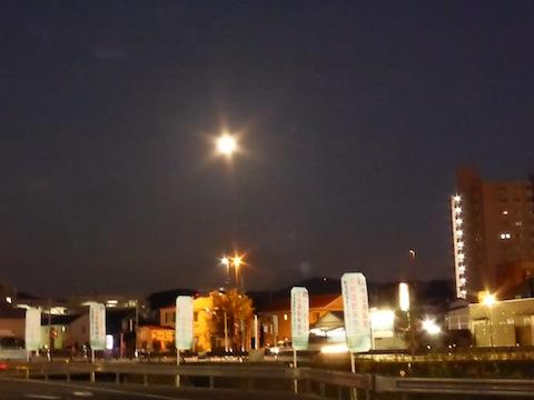 瀬戸の満月P1090413
