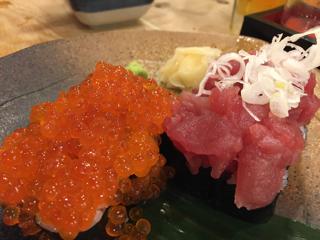 ぶっかけ寿司