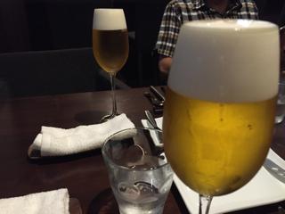 ランチタイム限定プチビール