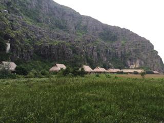 宿泊先のバンガロー