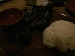 葉巻牛肉焼き