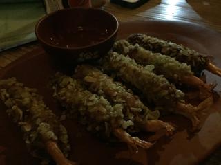 海老のもち米揚げ