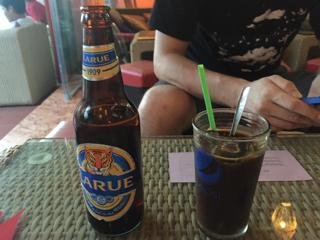 ビールとベトナム珈琲