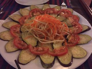 茄子サラダ