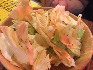 ざくぎりキャベツサラダ