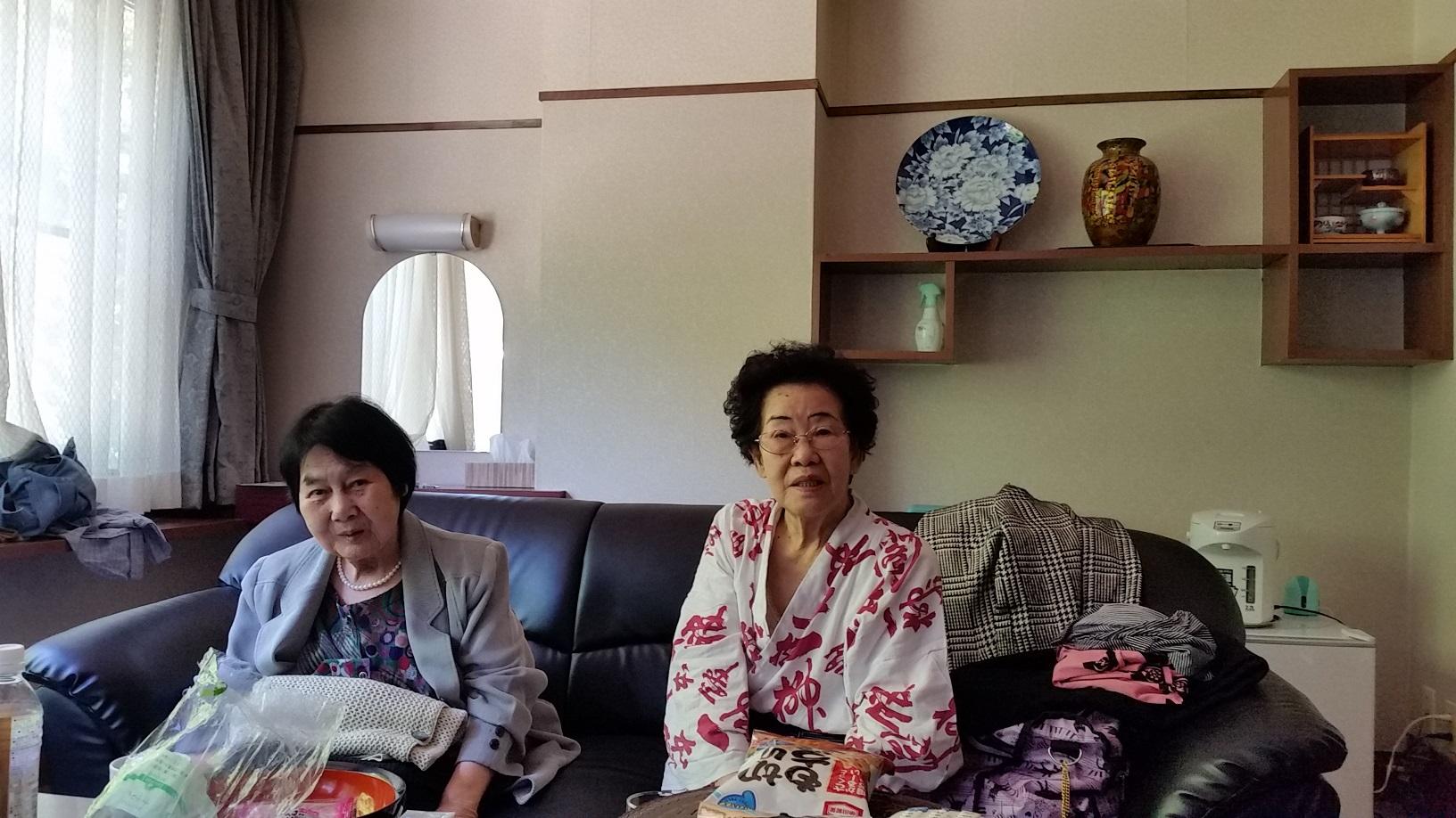 母と義母(川治温泉)