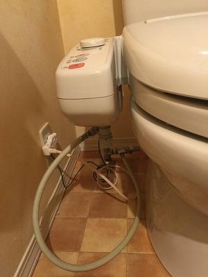 トイレ ホース