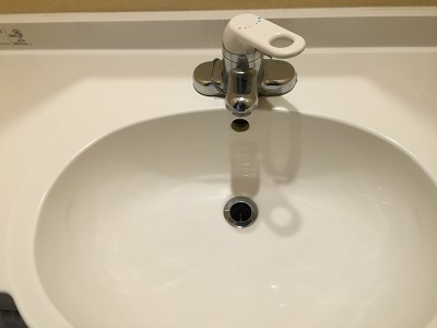 キレイになった手洗い