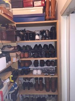 妻用靴置き場