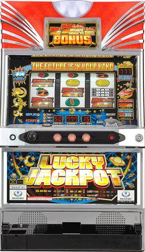 ラッキージャックポット筐体画像