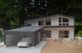 東泉町の家1/50模型