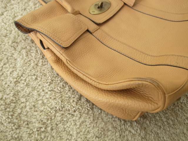 how to clean a mulberry leather bag