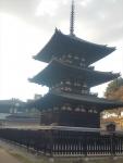 国宝 興福寺の三重塔