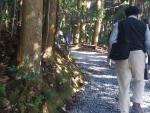 陽明文庫への散歩道