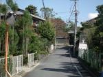 仁和寺への小路2