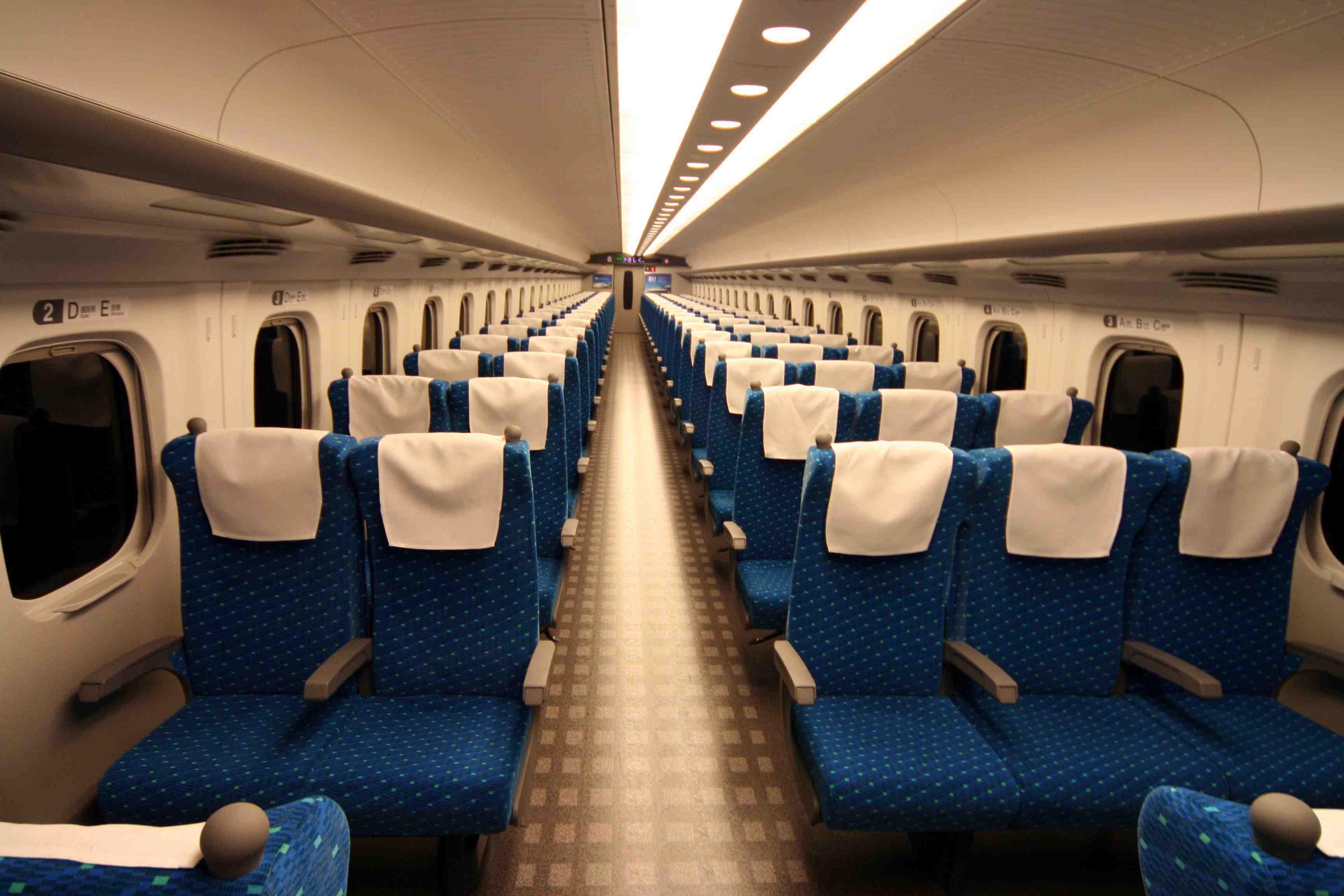 「新幹線 座席」の画像検索結果