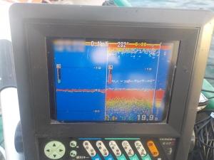 DSCN1136 こんな反応がうすくても釣れるときは釣れる