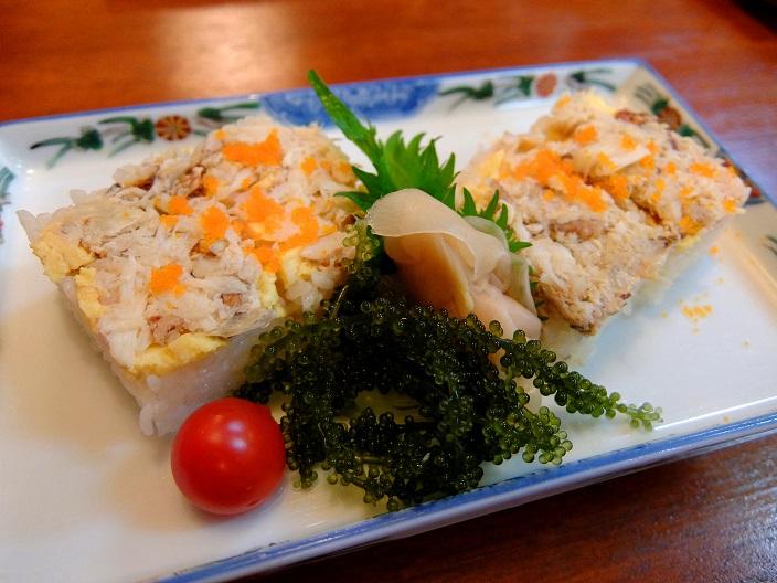 田舎家カザミ押し寿司