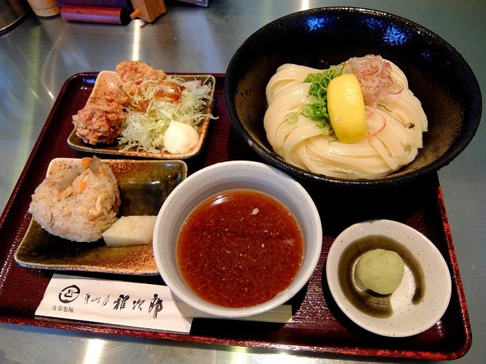雅次郎つけ麺1