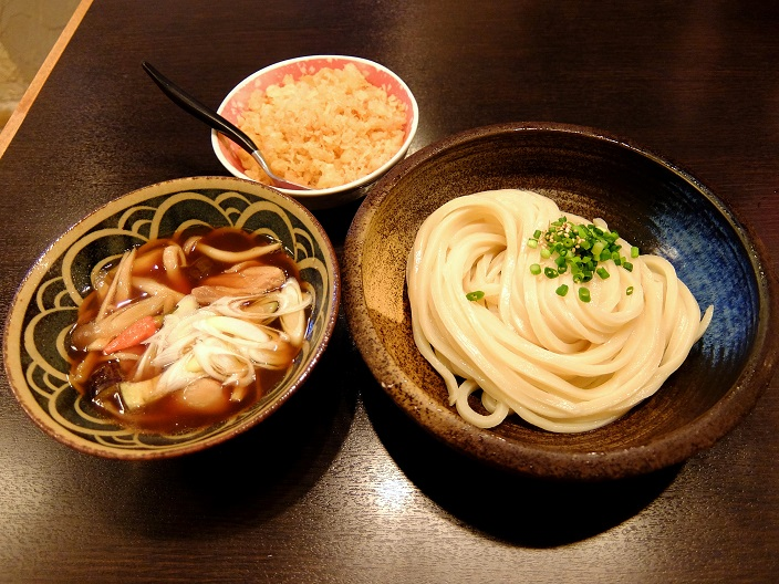 多楽製麺小川さんのつけ麺1