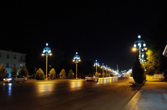 アシガバート夜の街歩き (4)