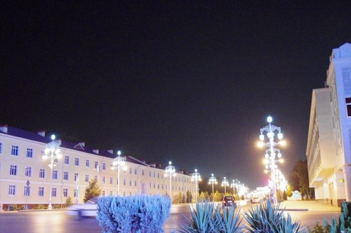 アシガバート夜の街歩き (2)