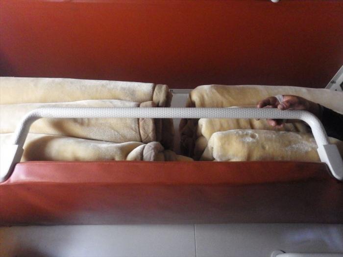 寝台列車でトルクメンバシへ (3)