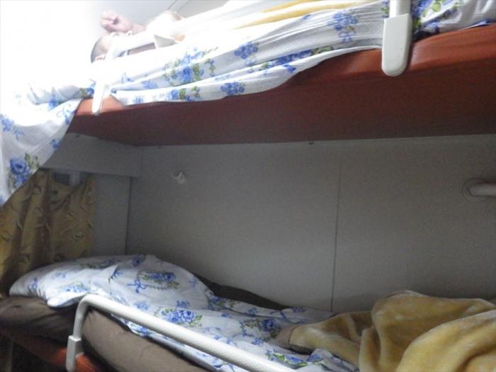 寝台列車でトルクメンバシへ (11)