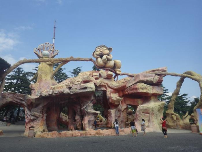 トビリシの遊園地 (2)
