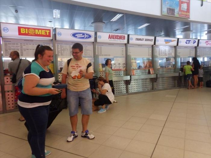 ソフィアのバスターミナル⇒キエフへ (3)