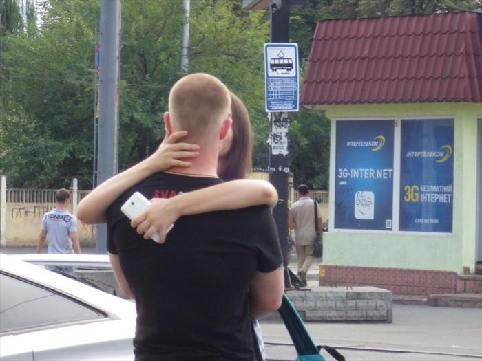 キエフ街歩き美女さがし (1)