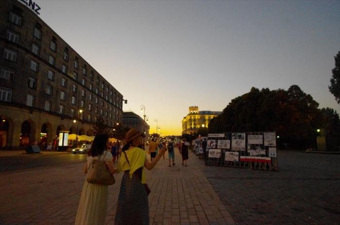 3人でワルシャワ街歩き (17)