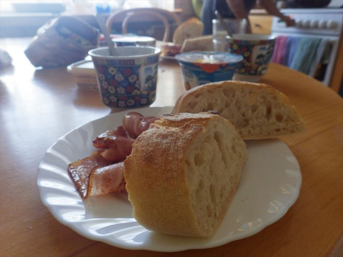ワルシャワ最後の朝ごはん (3)