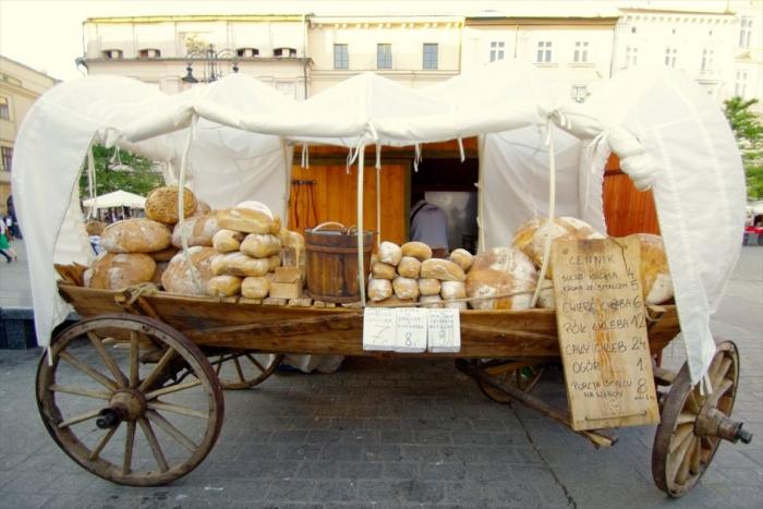 屋台のパン屋さん