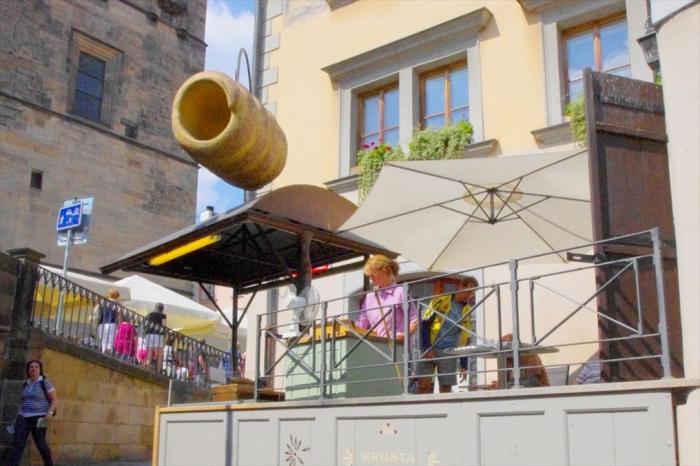 プラハの屋台とパン (9)
