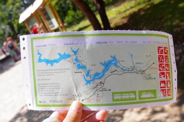 プリトヴィツェ湖群国立公園チケット (1)