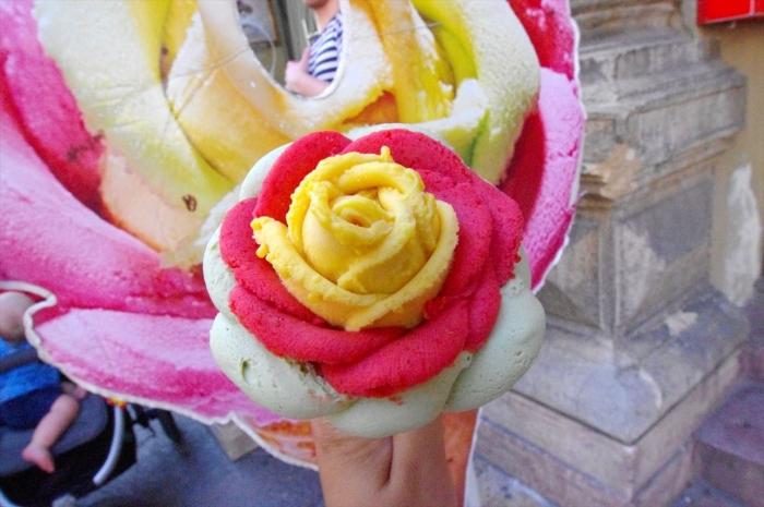 可愛すぎるバラのアイス (7)