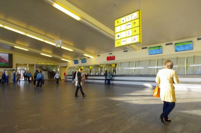 リガのバスターミナル (1)