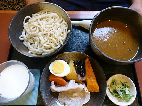 15 11/17 美瑛 野菜カレーうどん