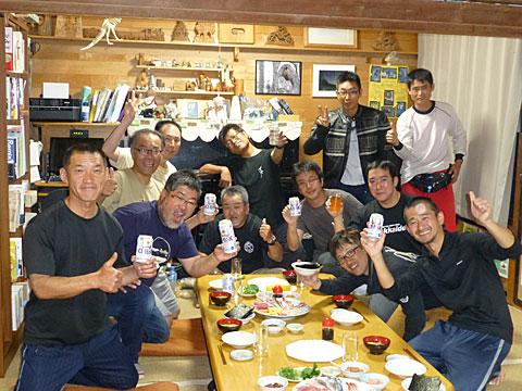 15 9/23 ホッカイダープチ打ち上げ
